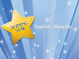 Peoplelink's Shining Star, November 2014