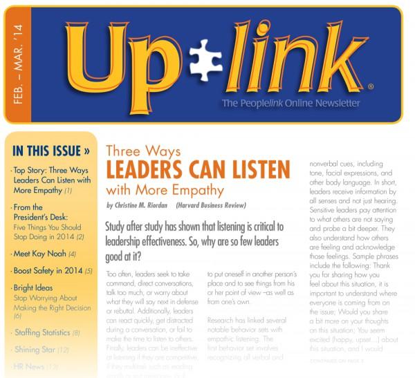 Uplink Feb-Mar, 2014