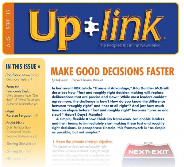Uplink Aug-Sept, 2013